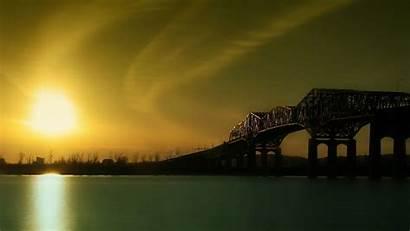 Bridge Background Abyss