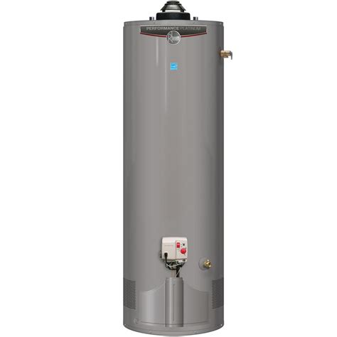 Rheem Performance Platinum Natural Gas 40 Gal Uln Damper