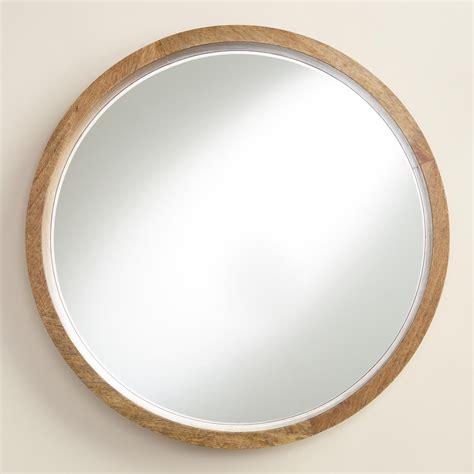 wood evan mirror market