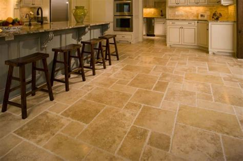tile flooring in kitchen and timeless travertine kitchen tiles wearefound 6141