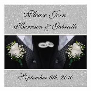 gay wedding civil union custom invitation With gay wedding invitations online