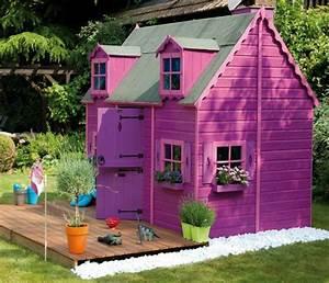 Maison Pour Enfant En Bois : maison enfant jardin pour le bonheur de vos enfants ~ Premium-room.com Idées de Décoration