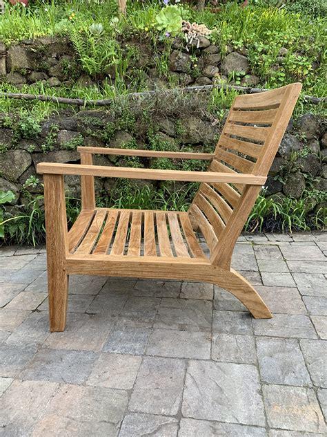 glen ellen deep seating lounge chair paradise teak