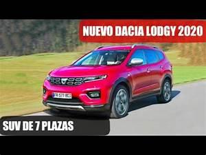 Nouveau Dacia Lodgy : dacia lodgy 2020 nuevo suv de 7 plazas youtube ~ Medecine-chirurgie-esthetiques.com Avis de Voitures