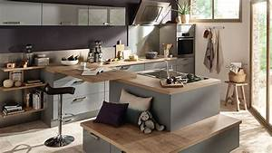 decoration cuisine et salon cuisine en image With decoration maison cuisine americaine