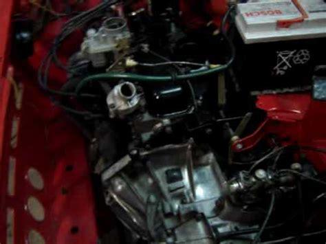 Fiat 127 engine - YouTube