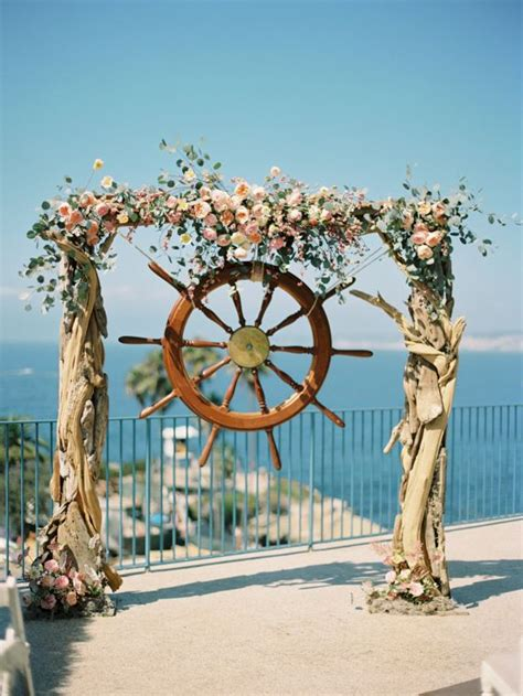 Boat Wedding Decoration Ideas by 25 Best Ideas About Nautical Wedding On