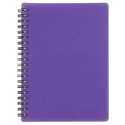 Translucent Spiral Notebook-Blank