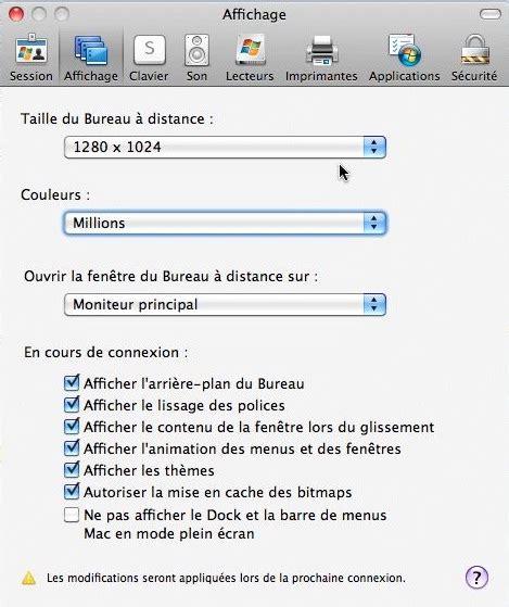 connection bureau a distance pour mac connexion bureau 224 distance pour mac r 233 glages du mac