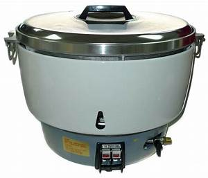 New Huei Natural Gas Commercial Rice Cooker  50 Cups