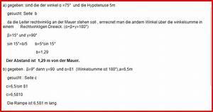 Winkel Mit Sinus Berechnen : sinus sinus berechnen eine leiter soll mit dem ~ Themetempest.com Abrechnung