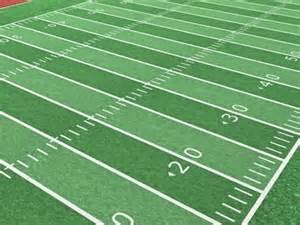 Animated Football Field