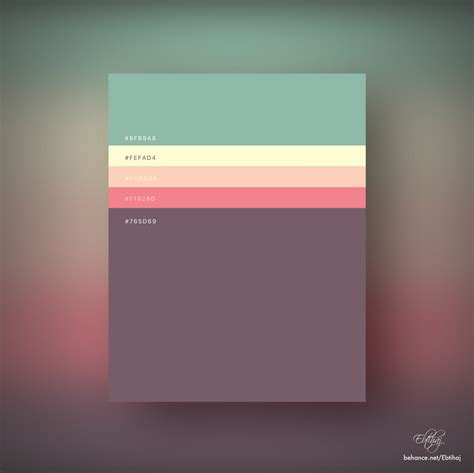 color pallete 8 beautiful flat color palettes for your next design project