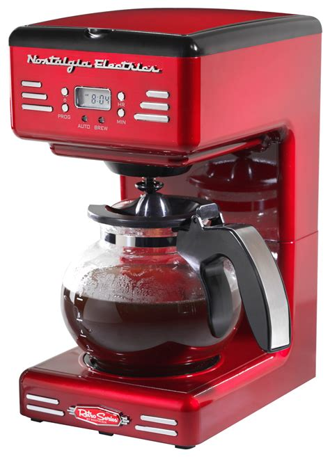 nostalgia electrics retro series  style  cup coffee