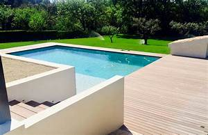 amenagement contour piscine With photo terrasse bois piscine 0 terrasse contour piscine en sapin lisse vert a saint