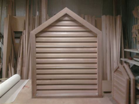 cedar gable vents cedar gable louver vents by jbreth lumberjocks 2031