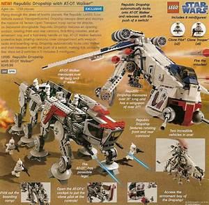 Lego Star Wars Republic Dropship With At Ot Walker
