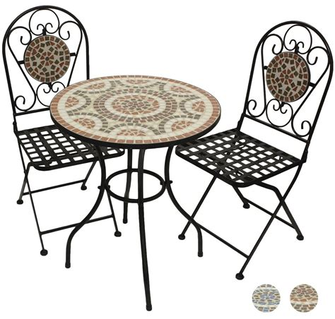 mosaic bistro table and chairs mosaic bistro set garden furniture wholesale yiwu china