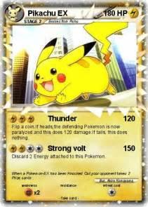 Pokemon Pikachu EX 163