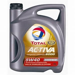 Huile De Moteur Diesel : huile moteur total activa 9000 5w40 essence 5 l ~ Melissatoandfro.com Idées de Décoration
