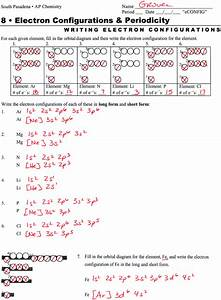 30 Electron Configuration And Orbital Diagram Worksheet