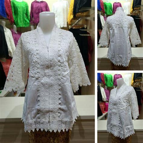Atasan Kebaya Mata Batu jual baju brokat kebaya atasan wanita brukat import