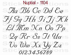 1104 custom vinyl letters script text window decal sticker With vinyl script letters