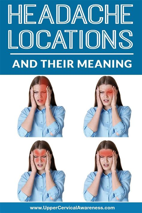 This kind of discomfort is known as a caffeine headache and can also be felt after taking a break from coffee after drinking it habitually for a long time. Headache Locations and Their Meaning - Upper Cervical Awareness in 2020   Headache location ...