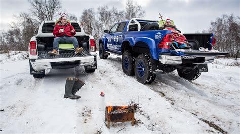 hilux  russian bbq  fast lane truck