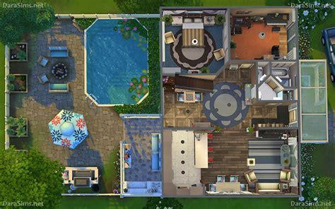family corner house  sims  nocc darasimsnet