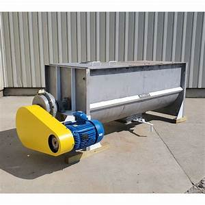 Used 70 Cubic Foot Munson Stainless Steel Ribbon Blender
