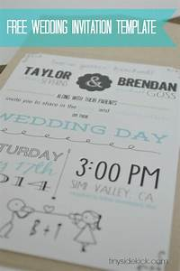 free wedding invitations templates theruntimecom With create your own wedding invitations free with photo