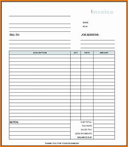 easy pdf invoice template hardhostinfo With invoice receipt template pdf