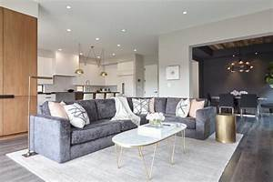 12 Living Room Ideas For A Grey Sectional HGTV39s