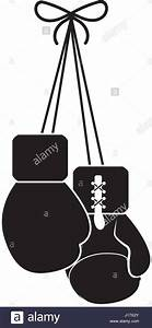 Hanging Boxing Gloves Silhouette | www.pixshark.com ...