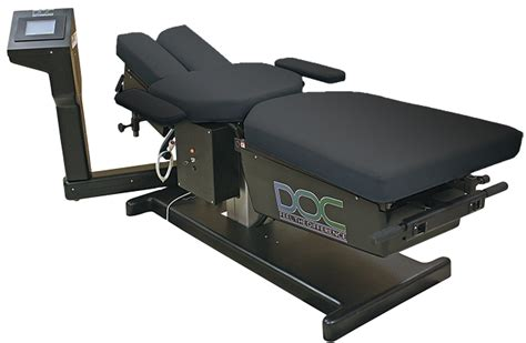 traction table for back doc cervical lumbar spinal decompression table