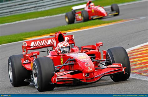 F1 Cars ausmotive 187 599xx and historic f1 cars at spa