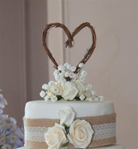 vine cake topper  rustic wedding  bridal shower