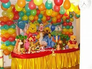 theme winnie l39ourson decoration anniversaire With salle de bain design avec décoration anniversaire winnie l ourson