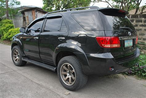 Toyota Fortuner Modification by Wowbadao 2006 Toyota Fortuner Specs Photos Modification