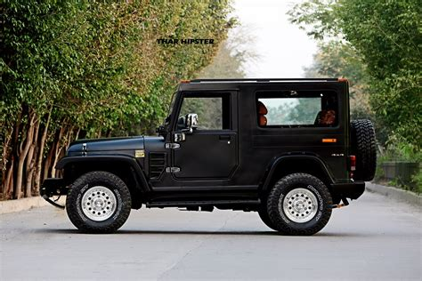 mahindra jeep 2016 mahindra thar hipster azad side indian autos blog