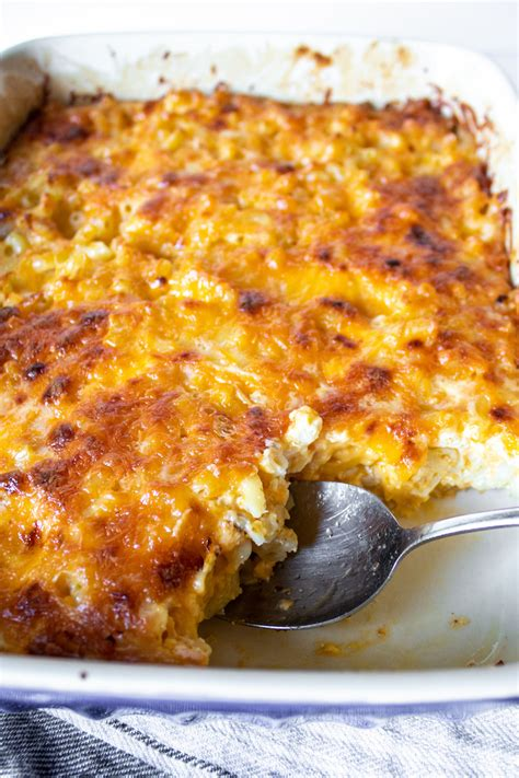 They are both made with lots of cheese , some everyone has their own special recipe for this delicious comfort food, no two people make it the same. Southern Baked Macaroni and Cheese - the hungry bluebird