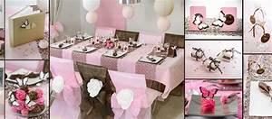 Décoration Table Bapteme Fille : id es de d coration de table pour un bapt me de fille th me rose et papillons ~ Farleysfitness.com Idées de Décoration