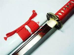 Battle Ready Japanese Samurai Katana Titanium Adsorb ...