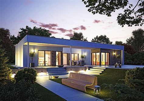 Moderne Häuser U Form okal haus stellt moderne flachdach bungalows vor okal
