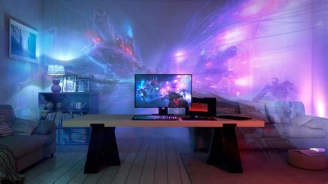 Led Lights Whole Room by Razer Project Can Turn Your Whole Living Room Into