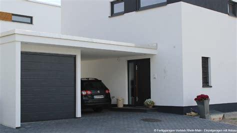 Anbau Garage by Fertiggarage Mit Anbau Fertiggarage Mit Carport Anbau