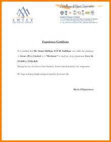 curriculum vitae for graduate template 4 work experience letter sles from employer joblettered