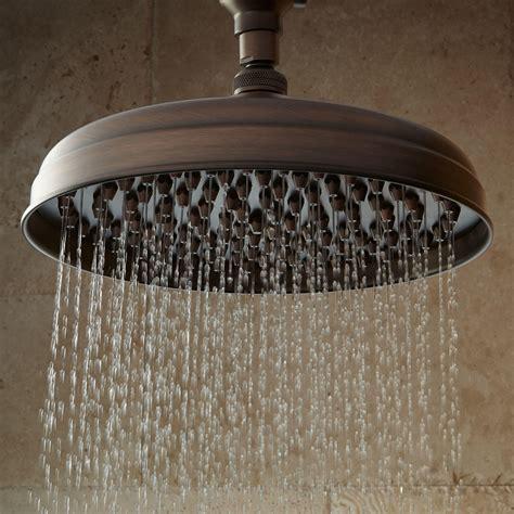 lambert rainfall nozzle shower head  ornate arm bathroom