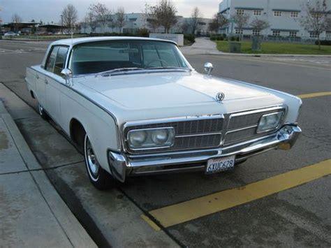 Find Used 1965 Chrysler Imperial Crown Hardtop Four Door